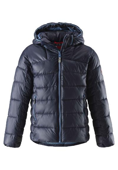 Juniors' winter jacket Petteri Navy
