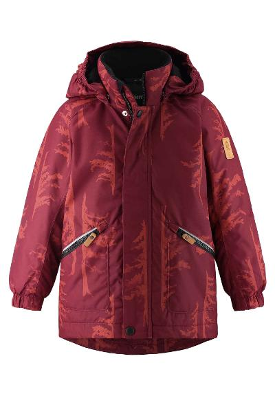 Kinder Winterjacke Nappaa Lingonberry red