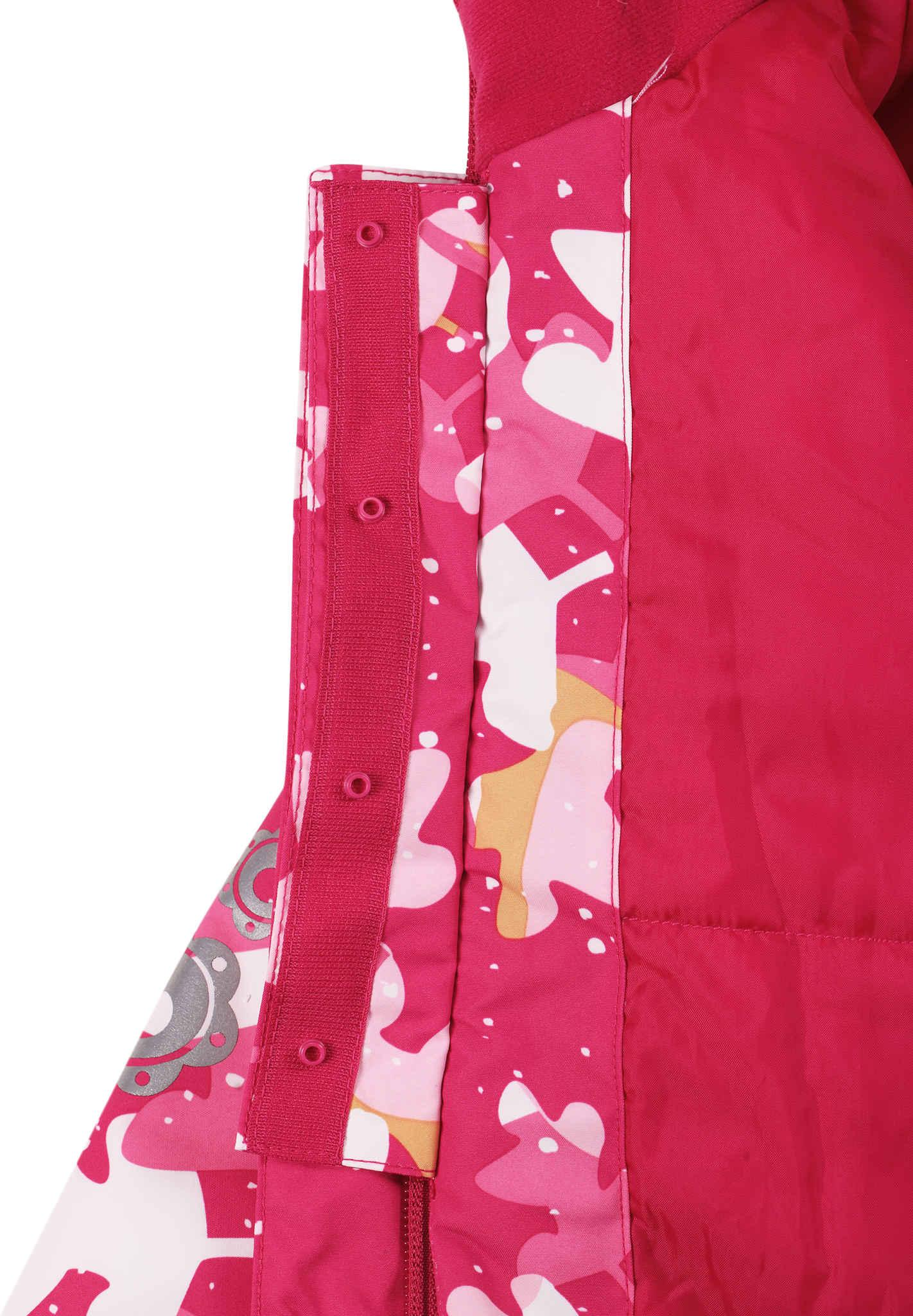 Reimatec toddlers  winter jacket Mimosa Cranberry pink 6e6f5b575