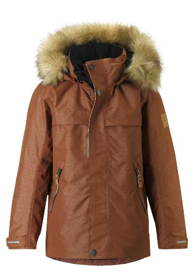 Kinder Winterjacke Outa Cinnamon brown