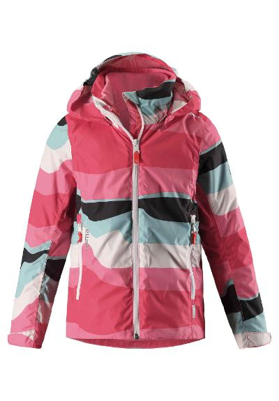 3in1 Reimatec mid-season jacket Tibia Bright red