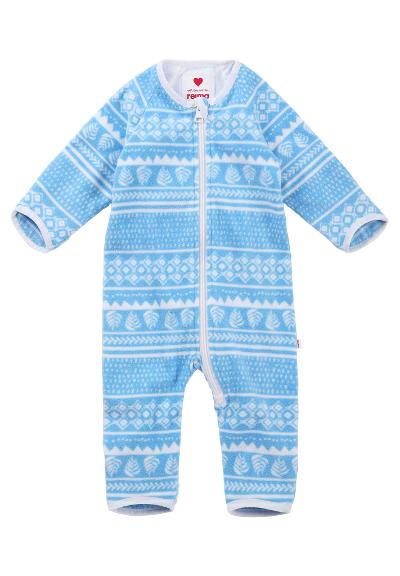 Baby fleeceoverall Laulu Icy blue