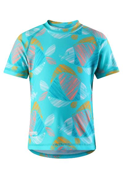 T-shirt plażowy Azores Bright turquoise