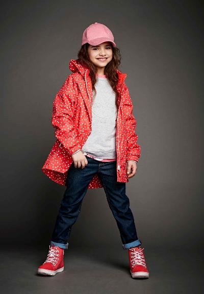 Reimatec jacket, Aava Bright red Bright red