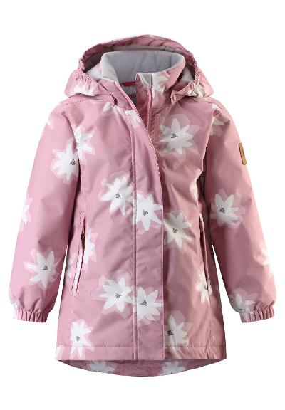 Kids' winter jacket Toki Soft rose pink