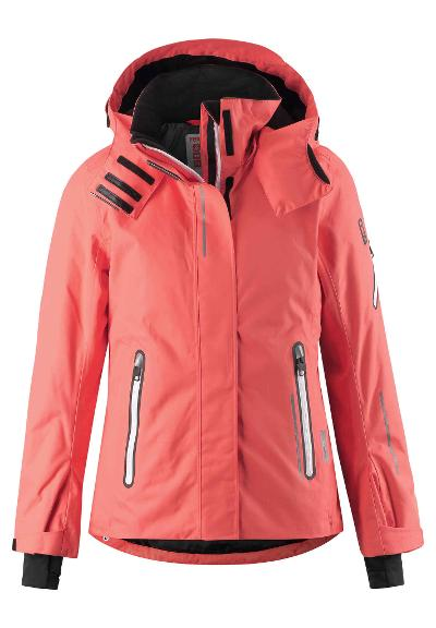Kinder Skijacke Frost Bright salmon