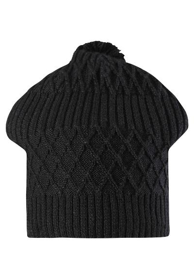 Kids' winter beanie Miila Black