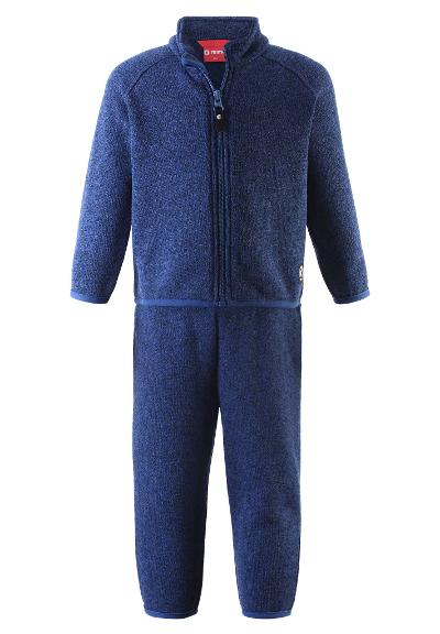 Kleinkinder Fleece-Set Tahto Jeans blue