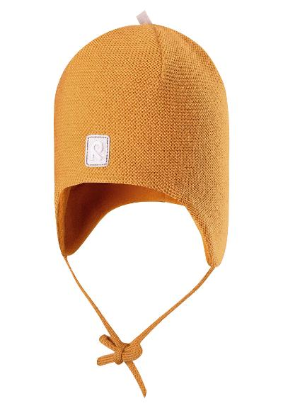 Toddlers' wool beanie Auva Vintage gold