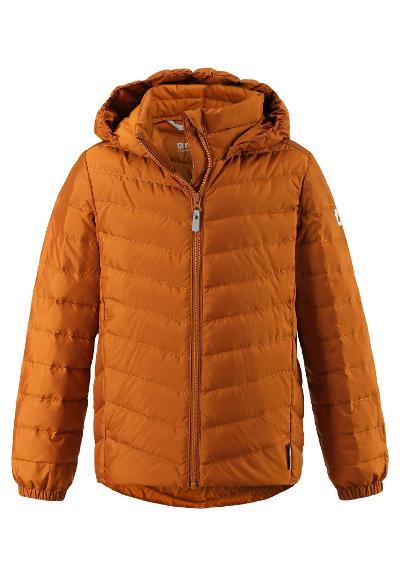 Juniors' lightweight down jacket Falk Cinnamon brown