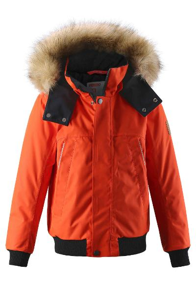 Juniors' winter jacket Ore Orange