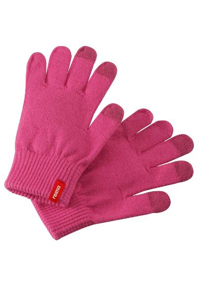 Kids' gloves Ahven Candy pink