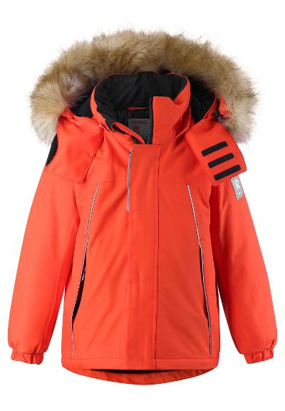 Kinder Winterjacke Niisi Orange