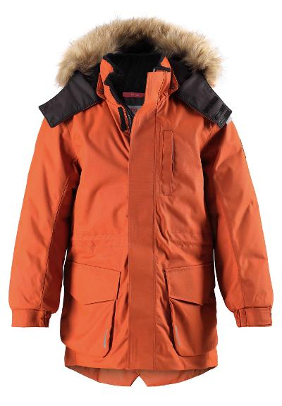 Kinder Winterjacke Naapuri Fox brown