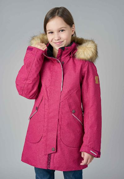 Reimatec  Kinder Winterjacke Inari Dark berry