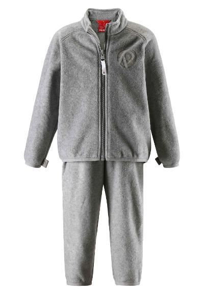 Kleinkinder Fleece Set Etamin Melange grey