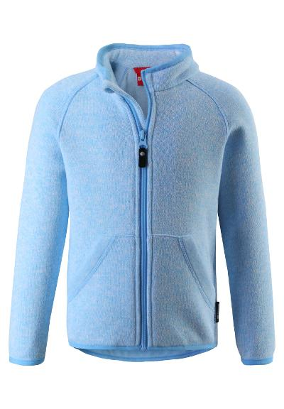 Barn fleecejacka Hopper Icy blue