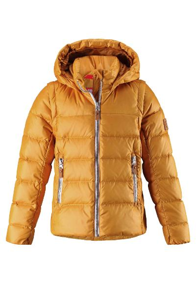 Kids' 2-in-1 down jacket Minna Vintage gold