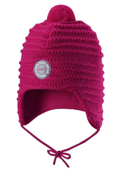 Toddlers' wool beanie Kumpu Berry