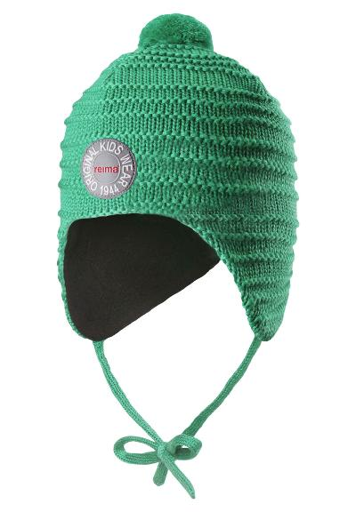 Toddlers' wool beanie Kumpu Green
