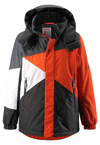 Kinder Skijacke Kaima Orange