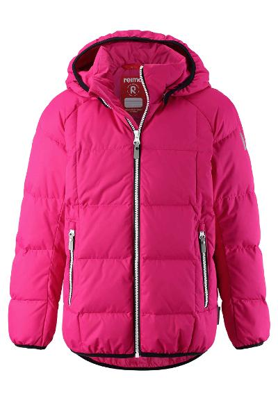 Kids' down jacket Jord Raspberry pink