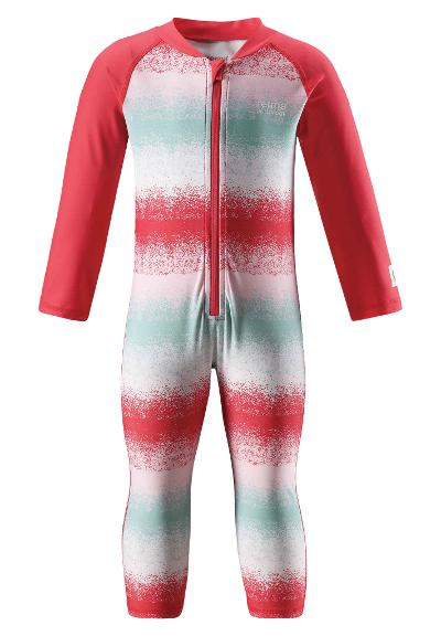 Barn uv-overall Maracuya Bright red