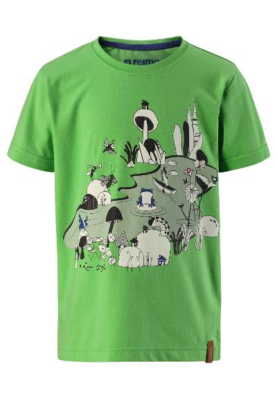 Barn T-shirt Kampela Light green