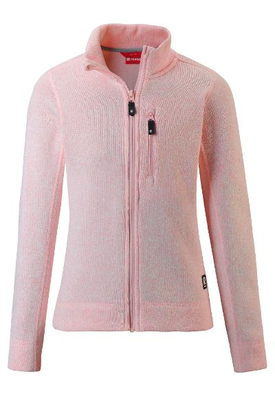 Kinder Fleecejacke Maaret Powder pink