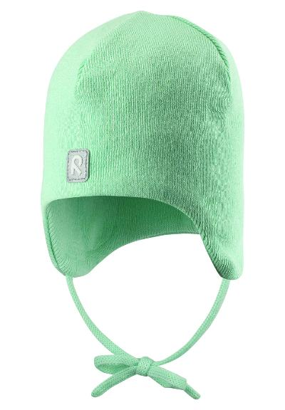 Kids' cotton beanie Kivi Pale green