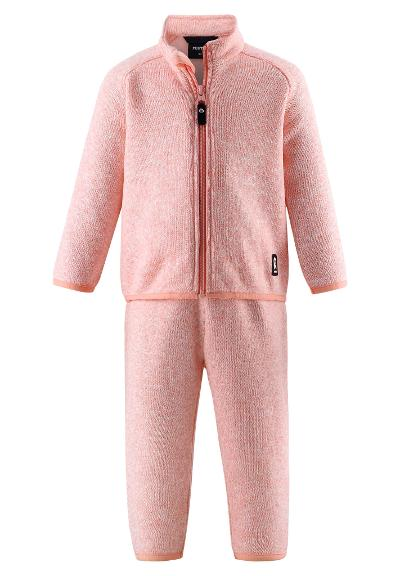 Kleinkinder Fleece-Set Tahto Bubblegum pink