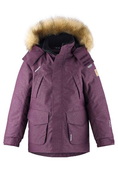 Kids' down parka Ugra Deep purple