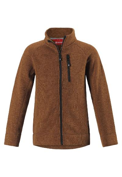 Kinder Fleecejacke Micoua Cinnamon brown