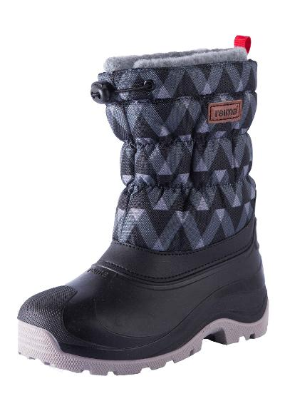 Kids' winter boots Ivalo Black