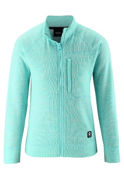 Ulljakke til barn Mist Light turquoise