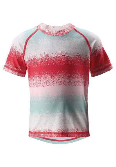T-shirt plażowy Azores Bright red