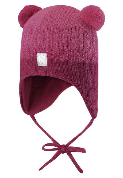 Ullue til barn Sammal Cranberry pink