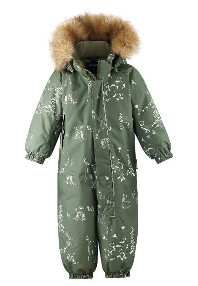 Toddlers' winter snowsuit Lappi