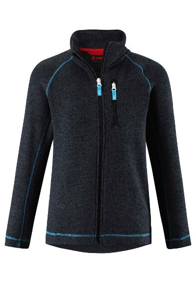 Juniors' fleece jacket Micoua Melange grey