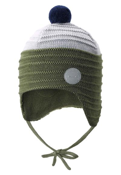 Ullue til barn Ainoa Khaki green