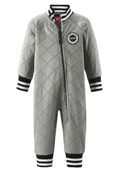 Toddlers' thermal all-in-one Trivor Clay grey