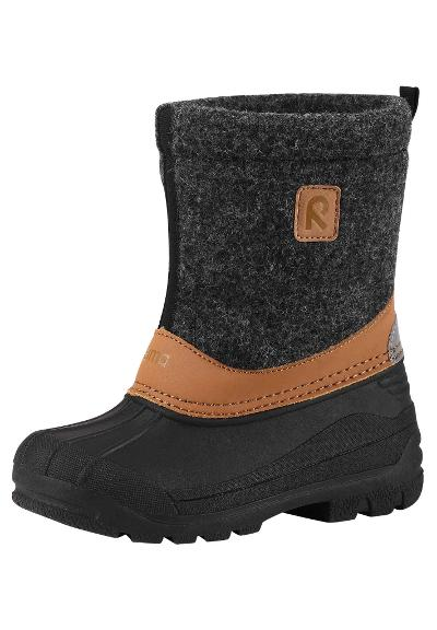 Kinder Winterstiefel Jalan Black