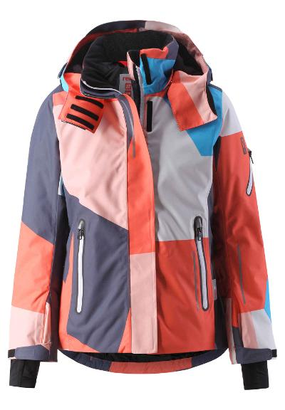 Kids' ski jacket Frost Bright salmon