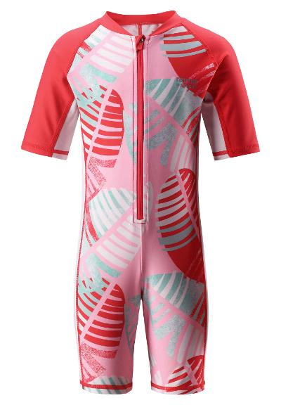 Kids' swim suit Galapagos Bright red