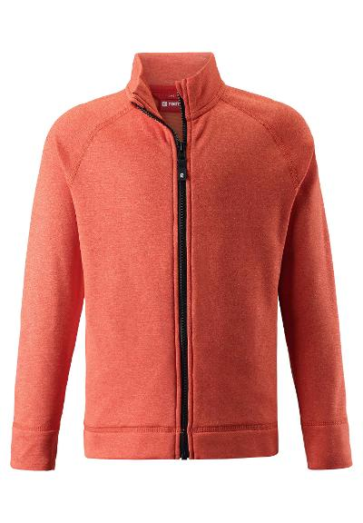 Kinder Sweatjacke Leijr Orange