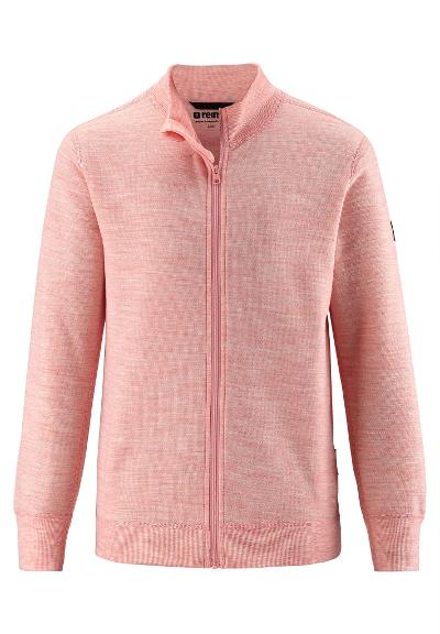 Kinder Merino Sweatjacke Mahin Powder pink