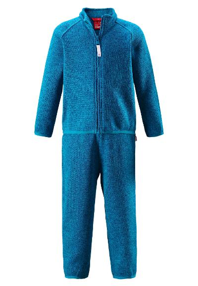 Toddlers' base layer set Tahto Blue