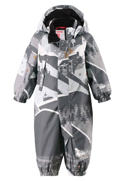 Toddlers' winter snowsuit Luosto Soft grey