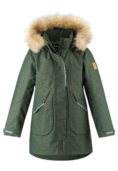 Kinder Winterjacke Inari Dark green
