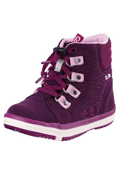 Kids' spring boots Wetter Wash Deep purple